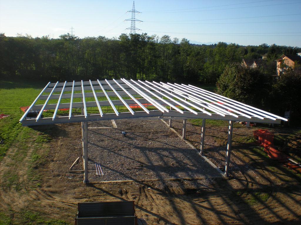 Realizziamo strutture in ferro zincato o acciaio inox per for Semplici 2 piani di garage per auto